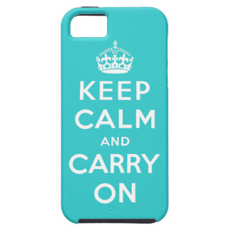 Keep Calm and Carry on Vibe iPhone Case
