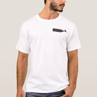 Keep Calm and Carry On Whale Theme T-Shirt