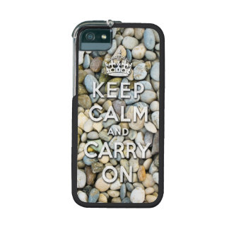 keep calm and carry on - Zen attitude iPhone 5 Cases