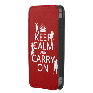 Keep Calm and Carry On (zombies) (any color)