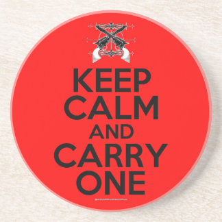 Keep Calm and Carry One Coasters