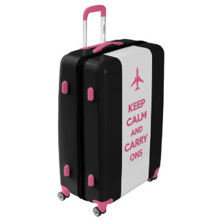 Keep Calm And Carry Ons Luggage