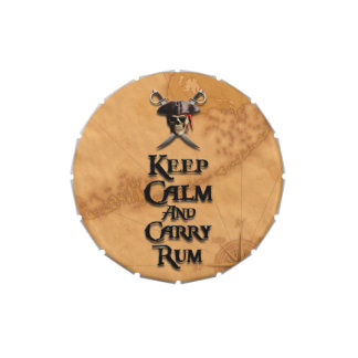 Keep Calm And Carry Rum Candy Tins
