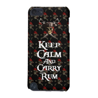 Keep Calm And Carry Rum iPod Touch 5G Cases