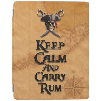 Keep Calm And Carry Rum iPad Cover