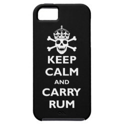 Case-Mate Vibe iPhone 5 Case with Keep Calm and Carry Rum design