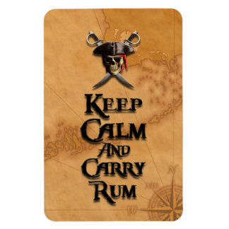 Keep Calm And Carry Rum Magnet