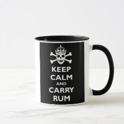 Keep Calm and Carry Rum Combo Mug