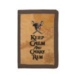 Keep Calm And Carry Rum Wallet