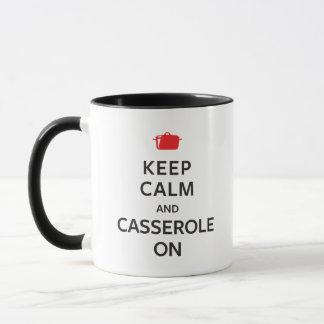 Keep Calm and Casserole On Mug