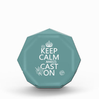 Keep Calm and Cast On - all colors Award