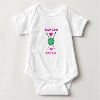 KEEP CALM AND CAST ON INFANT CREEPER