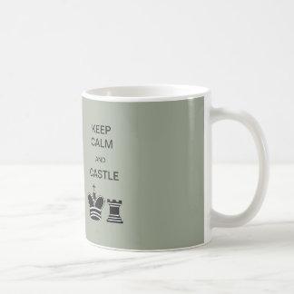 Keep Calm and Castle 11 oz Classic White Mug