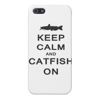 Keep Calm and Catfish On - iPhone case