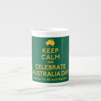 Keep Calm and Celebrate Australia Day! Tea Cup