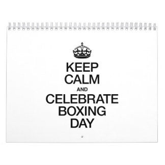 KEEP CALM AND CELEBRATE BOXING DAY CALENDAR