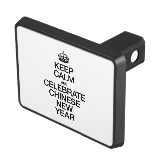 KEEP CALM AND CELEBRATE CHINESE NEW YEAR TOW HITCH COVERS