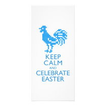 KEEP CALM AND CELEBRATE EASTER RACK CARD