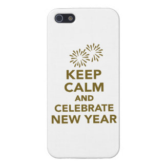 Keep calm and celebrate new year iPhone 5/5S covers