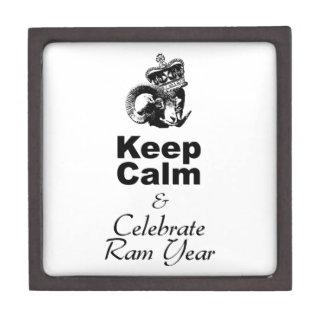 Keep Calm and Celebrate Ram Year 2015 Gift Box