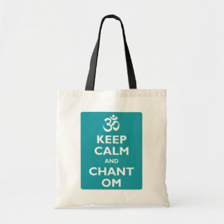 Keep Calm and Chant Om Budget Tote Bag
