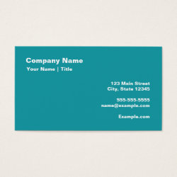 Business Card with Keep Calm and Chant Om design