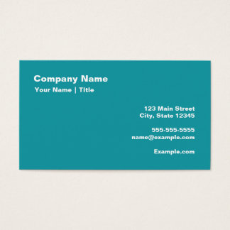 Keep Calm and Chant Om Business Card