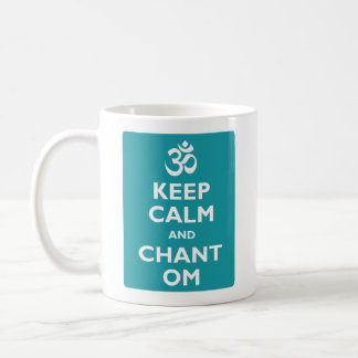 Keep Calm and Chant Om Coffee Mug