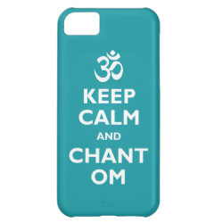 Keep Calm and Chant Om Case-Mate Barely There iPhone 5C Case