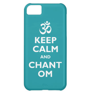 Keep Calm and Chant Om iPhone 5C Covers