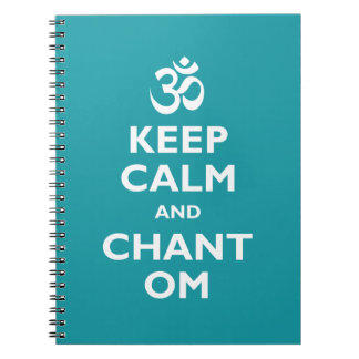 Keep Calm and Chant Om Notebook