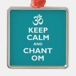 Keep Calm and Chant Om Ornaments
