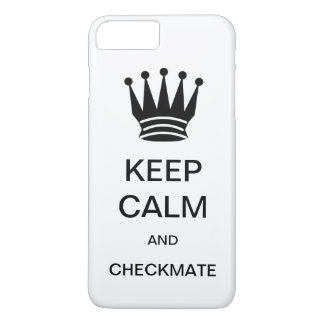 KEEP CALM AND CHECKMATE CaseMate iPhone 7 Case