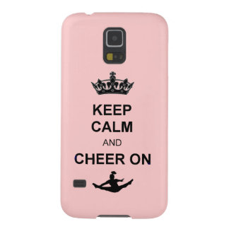Keep Calm and Cheer on Case For Galaxy S5