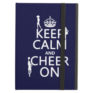 Keep Calm and Cheer On (cheerleaders)(any color) Case For iPad Air