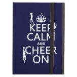 Keep Calm and Cheer On (cheerleaders)(any color) iPad Cover