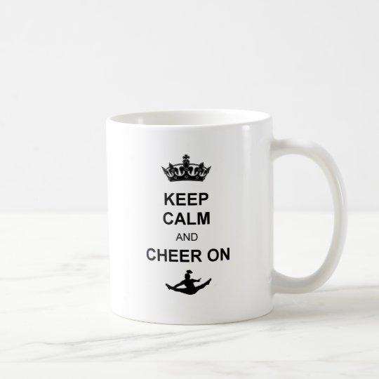 Keep Calm and Cheer on Coffee Mug