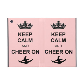 Keep Calm and Cheer on Cases For iPad Mini
