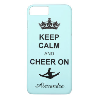 Keep Calm and Cheer on iPhone 7 plus case