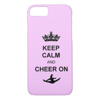 Keep Calm and Cheer on iPhone 8/7 Case