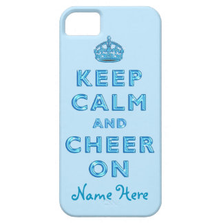 KEEP CALM AND CHEER ON iPhone for Cheerleaders iPhone SE/5/5s Case