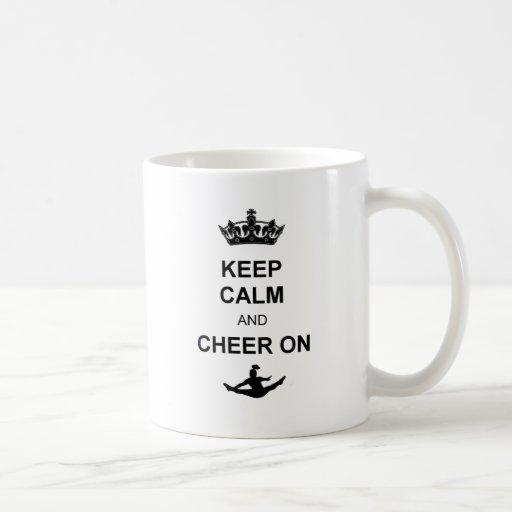 Keep Calm and Cheer on Mugs