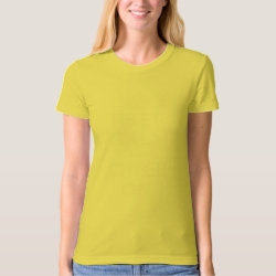 Women's American Apparel Organic T-Shirt with Keep Calm and Cheer On design