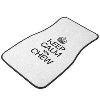 KEEP CALM AND CHEW FLOOR MAT