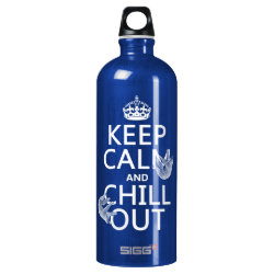 Keep Calm and Chill Out (sloths) SIGG Traveller Water Bottle (0.6L)