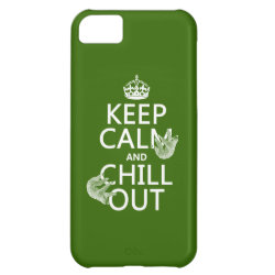 Keep Calm and Chill Out (sloths) Case-Mate Barely There iPhone 5C Case