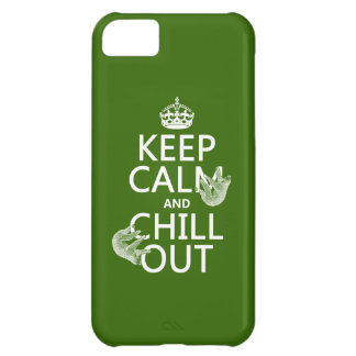 Keep Calm and Chill Out (sloth) (any color) Case For iPhone 5C