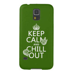 Case-Mate Barely There Samsung Galaxy S5 Case with Keep Calm and Chill Out (sloths) design