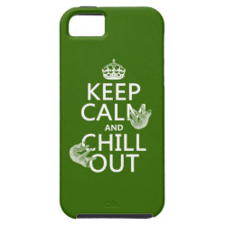 Keep Calm and Chill Out (sloths) Case-Mate Vibe iPhone 5 Case