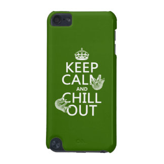 Keep Calm and Chill Out (sloth) (any color) iPod Touch 5G Cover